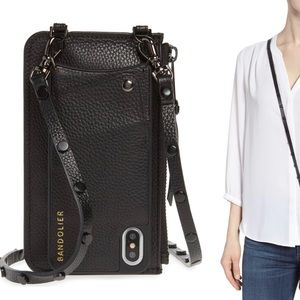 Like new Bandolier Jane pouch and iPhone X/XS case